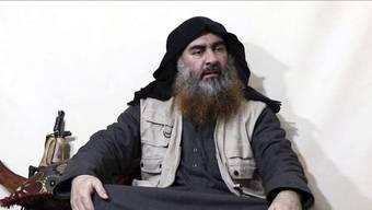 Ein Archivbild von einer IS-Webseite zeigt den IS-Gründer und Anführer Abu Bakr al-Bagdadi, der nun gemäss US-Präsident Trump bei einem Einsatz von US-Spezialeinheiten getötet wurde.