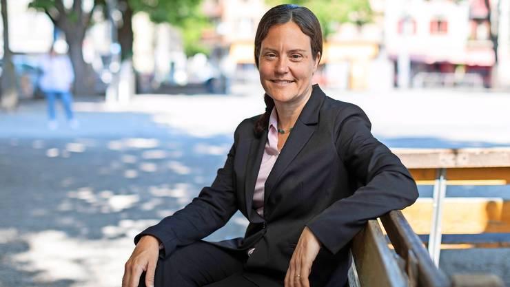 Alexandra Dufresne will Frauen motivieren, sich zu trauen und ihren Platz einzufordern.