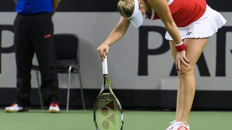 Auf der ITF-Tour will sich Belinda Bencic wieder aufbauen und wichtige Punkte für die Weltrangliste holen