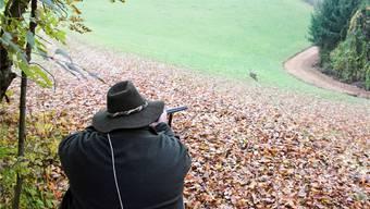 Wachtablösung in Nusshof: Jetzt können sich vier neue Jäger bei der Regulierung des Wildbestands auf dem Gemeindeboden bewähren.