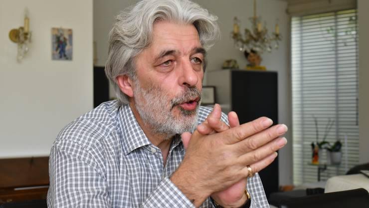 Fällt mit einem Schädelbruch nach Treppensturz aus: Amtsgerichtspräsident Pierino Orfei.