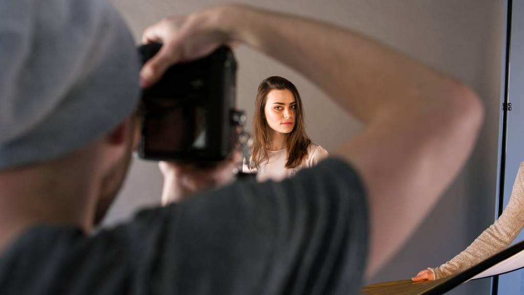 Fotoshooting iStock-Bild