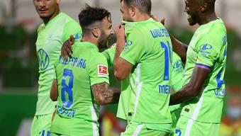Für den VfL Wolfsburg war Renato Steffen am Wochenende sehr erfolgreich: Tor und Assist gegen Hoffenheim (Archivbild)