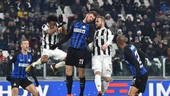 Harte Zweikämpfe, aber kein Sieger im Spitzenkampf der Serie A zwischen Juventus Turin und Inter Mailand