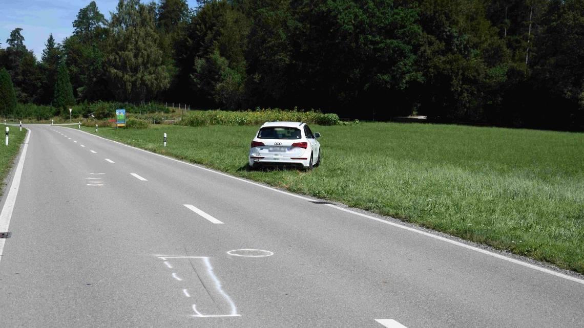 Die Strasse wurde nach dem Unfall für drei Stunden gesperrt.