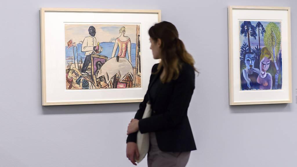 Ausstellung mit Werken aus der Sammlung Gurlitt