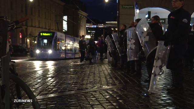 Kein Krawall in Bern dank Zürcher 1.-Mai-Polizeitaktik
