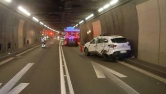 Eine Kollision zwischen einem Auto und einem Car im Gotthardstrassentunnel ist glimpflich ausgegangen.