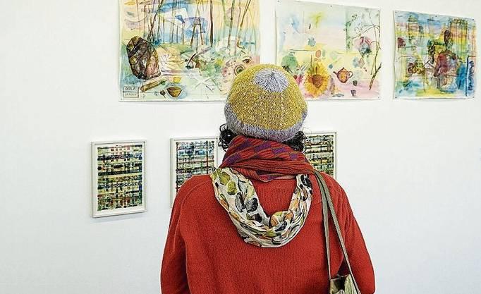 Ausstellungsimpressionen vom Eröffnungstag im Kunstraum Baden.