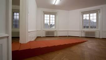 Jonas Etter, Stairs, Ölsand, 2012. zvg/Kunsthaus Langenthal