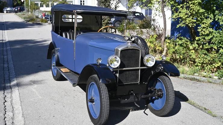 Der Peugeot 172 R: Nur etwa 600 Kilogramm wiegt der Oldtimer.
