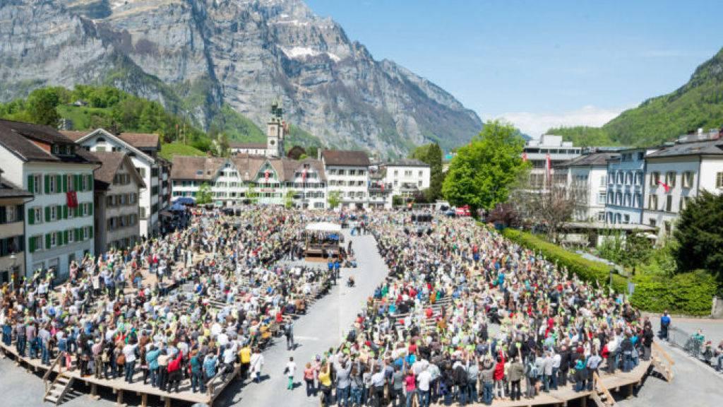 Die Landsgemeinde in Glarus soll dieses Jahr im September stattfinden, allerdings mit Schutzmasken-Pflicht.