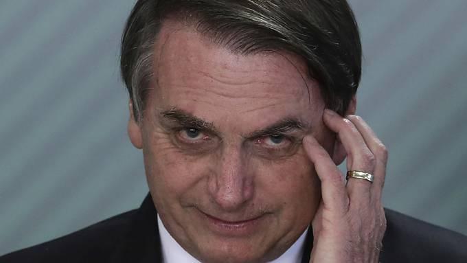 Der brasilianische Präsident Jair Bolsonaro hat sich mit Corona angesteckt.