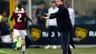 Gennaro Gattuso steht noch lange an der Seitenlinie bei der AC Milan