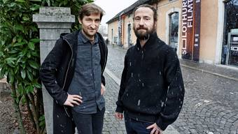 Mirko (links) und Dario Bischofberger gehören zu den Schweizer Jungregisseuren, die an den Filmtagen gerade für Aufsehen sorgen.