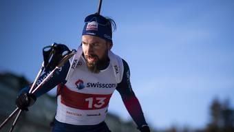 Mitten in der Weltspitze: Benjamin Weger lief beim Weltcup in Kontiolahti erstmals seit zwei Jahren in die Top 4