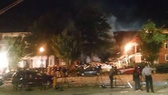 Bei der Explosion eines Hauses in Silver Spring wurden mindestens zwei Menschen getötet. Mindestens sieben weitere werden noch vermisst.
