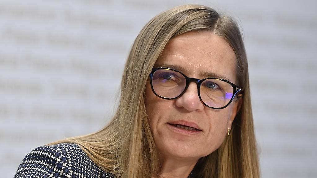 Virginie Masserey und die Taskforce nahmen am Freitag zur aktuellen Lage, zu Lockerungen und zur Impfkampagne Stellung. (Archivbild)