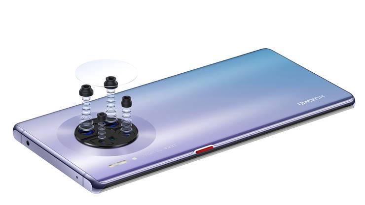 Die Kameras hat Huawei mit dem deutschen Traditionsunternehmen Leica zusammen entwickelt.