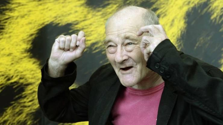 Yves Yersin, hier 2013 am Filmfestival in Locarno, ist am 15. November 2018 im Alter von 76 Jahren gestorben. (Archiv)