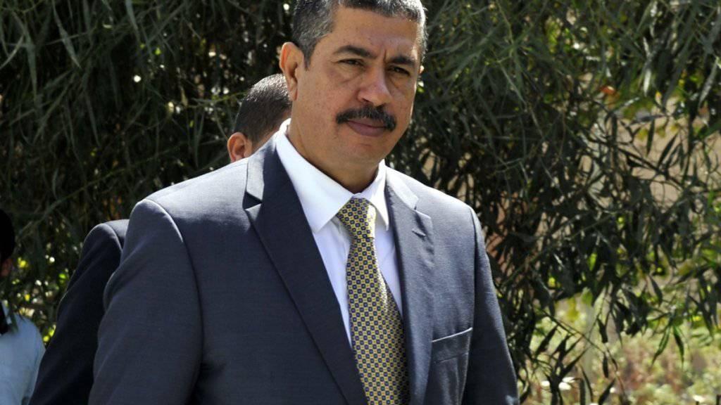 Muss seinen Posten räumen: Jemens Regierungschef Chaled Bahah. (Archivbild)