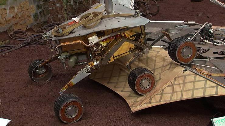 Der Mars-Rover