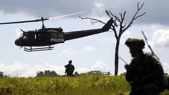 Ein Anti-Drogen-Einsatz der kolumbianischen Polizei (Archiv)