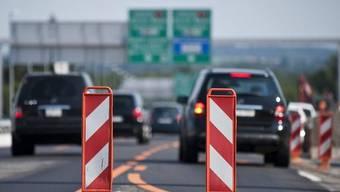 Der Nationalstrassen- und Agglomerationsfonds soll die Finanzierung von Nationalstrasse und Agglomerationsprojekten sicherstellen. (Symbolbild)