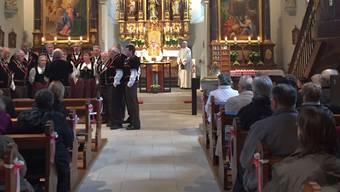 Mit einem ferlichen Gottesdienst wurde am Wochenende der Abschied von der Kirchgemeinde Gänsbrunnen begangen.