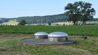 Das Pumpwerk Eichholz in Wohlen fiel wegen zu hoher Chlorothalonil-Werte auf. (Archiv)