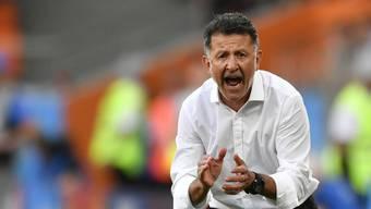 Juan Carlos Osorio feuert seine Männer an