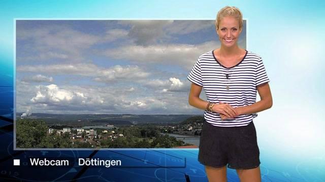Die Temperaturen steigen wieder an: Wetterprognosen für die Region vom Donnerstagabend, 9. Juli 2015.