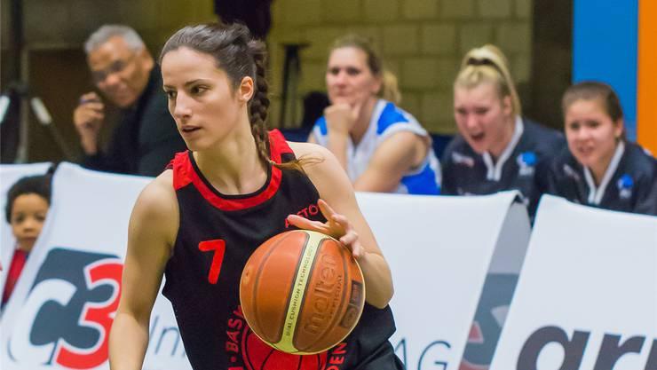 Die 24-jährige Cinzia Ferrari ist für die Basketballerinnen von Alstom Baden ein Glücksfall.