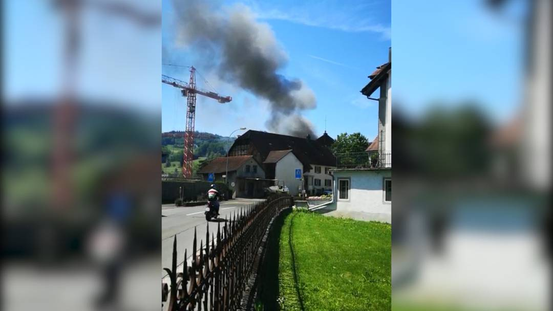 Brand in Boniswil