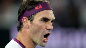 Roger Federer steht in den Viertelfinals der Australian Open.