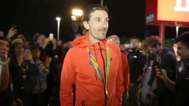 House of Switzerland feiert Fabian Cancellara