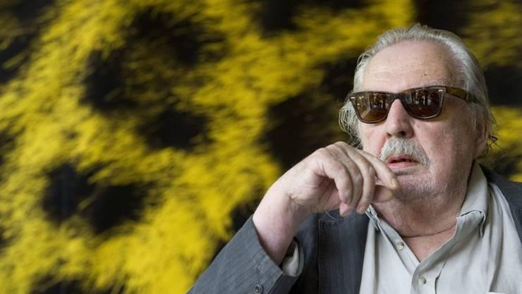 Alain Tanner, hier 2010 am Filmfestival Locarno, wird am 6. Dezember 2019 90 Jahre alt. (Archiv)