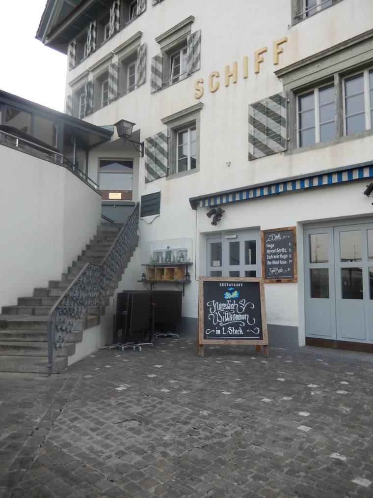 Das Restaurant Schiff in der Stadt Zug