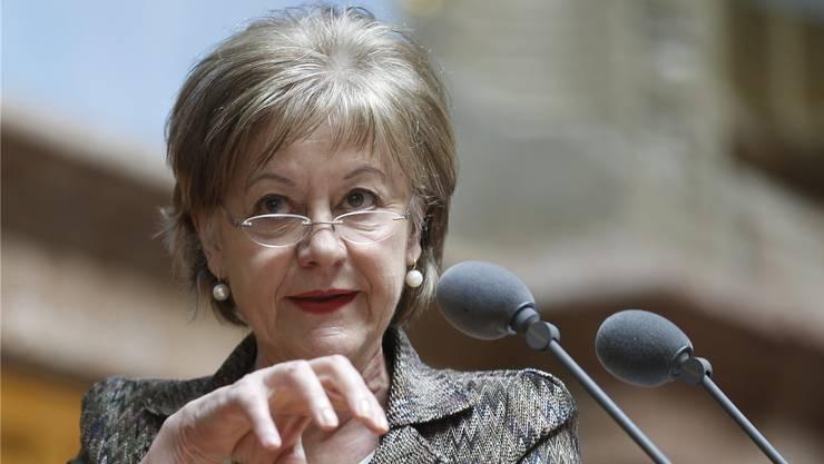 Die Grande Dame der Baselbieter SP will 2015 nochmals für den Nationalrat kandidieren.