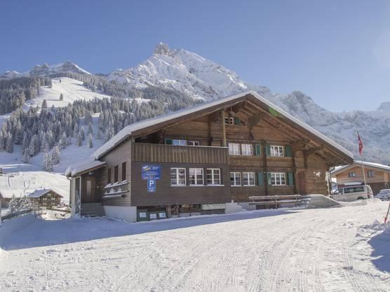 Die Menziker Schüler werden in Adelboden ins Skilager gehen. Dieses Chalet hat die Schule gemietet.