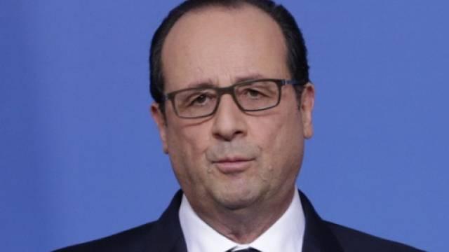 Auf den Hund gekommen: François Hollande (Archiv)