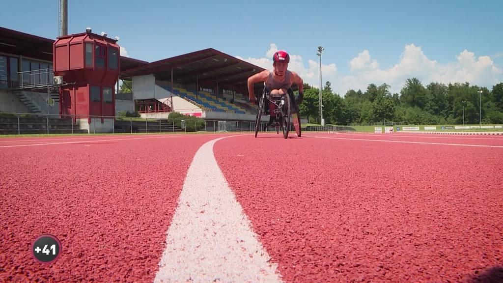 Nach Turnunfall: Luzerner Fabian Blum will mit Rennrollstuhl an Paralympics