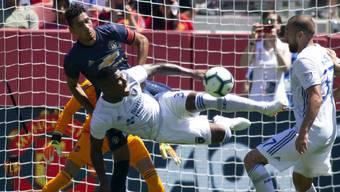 Im Testspiel zwischen Manchester United und den San José Earthquakes resultierte ein unspektakuläres 0:0
