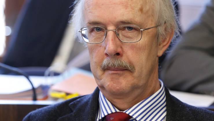 Premiere als GLP-Kantonsrat:Rudolf Hafner. Er brachte 1984 die Berner Finanzaffäre ins Rollen.