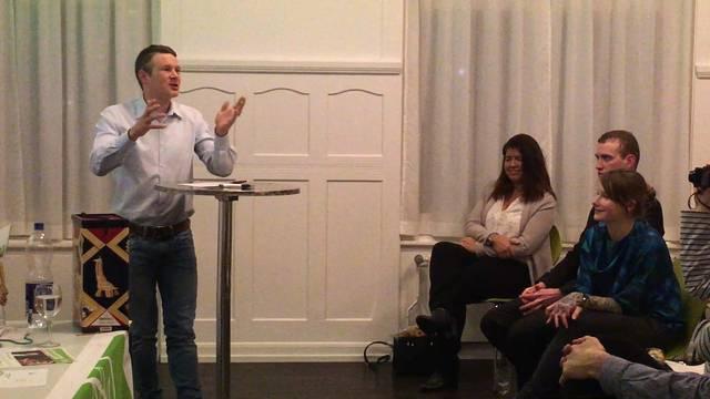 Zu Beginn noch einmal die Entschuldigung: Jonas Frickers Abschiedsrede in voller Länge
