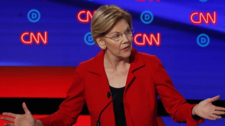 US-Senatorin Elizabeth Warren ist nicht mehr Präsidentschaftsanwärterin.