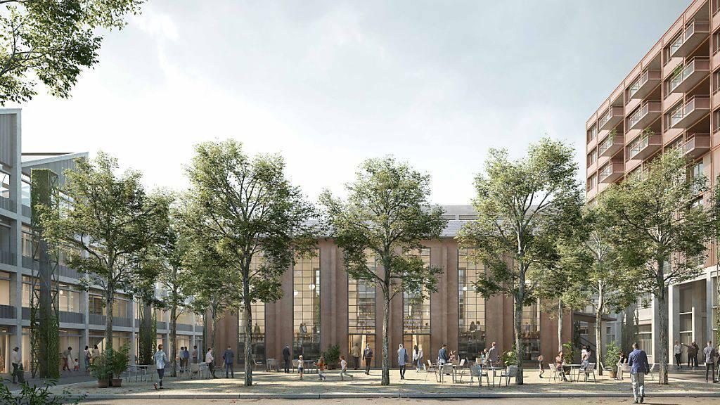 Eines der Projekte, an dem die abl beteiligt ist: Die Überbauung auf dem EWL-Areal in Luzern.