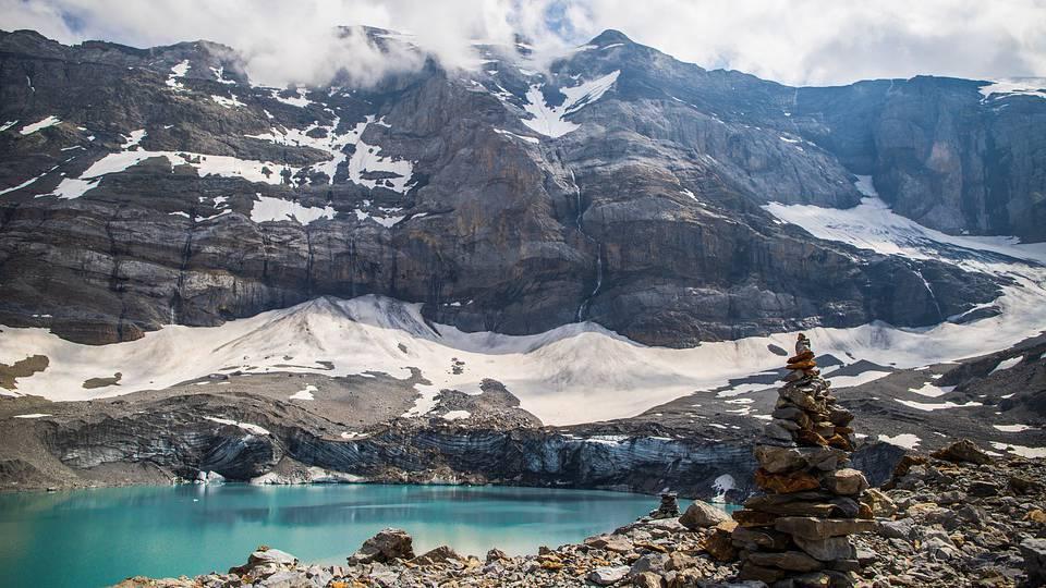 Klimawandel in den Bergen drastisch