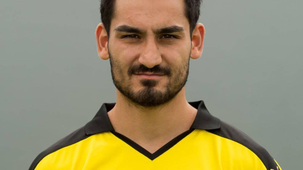 Ilkay Gündogan trägt künftig nicht mehr das Trikot von Borussia Dortmund, sondern jenes von Manchester City
