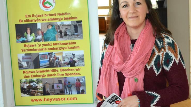 Wie können wir die kurdischen Flüchtlinge unterstützen? Für Hatice Sonu ist das die wichtigste Frage. Nicole Nars-Zimmer